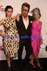 DAVID JOHANSEN wife MARA HENNESSEY at Martin Scorsese Honored with Friars Club coveted entertainment Icon award at Cipriani Wall street 9-21-2016 John Barrett/Globe Photos 2016