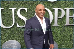 MIKE TYSON at opening night of Tennis US Open in Flushing , Queens New York 8-28-2017 Photos by John Barrett/Globe Photos 2017