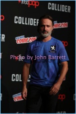 ANDREW LINCOLN at panel to disuss season 7 of ''The Walking Dead'' at NY Comic Con day3 at the Theatre at Madison Square Garden 10-7-2017 John Barrett/Globe Photos 2017